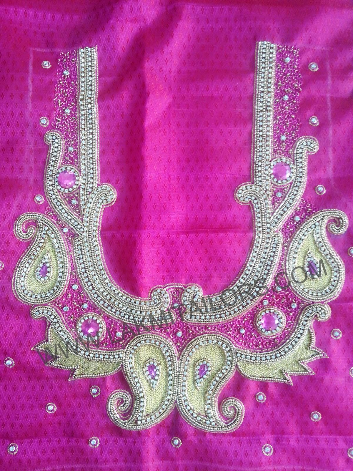 Lakmi ladies tailors bridal blouse designs