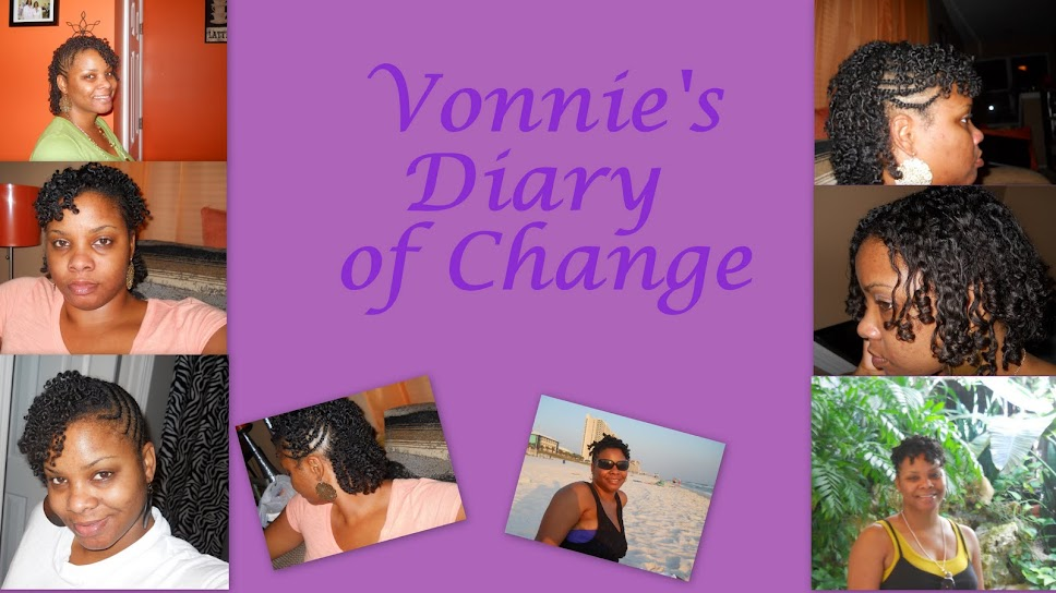 Vonnie's Diary of Change