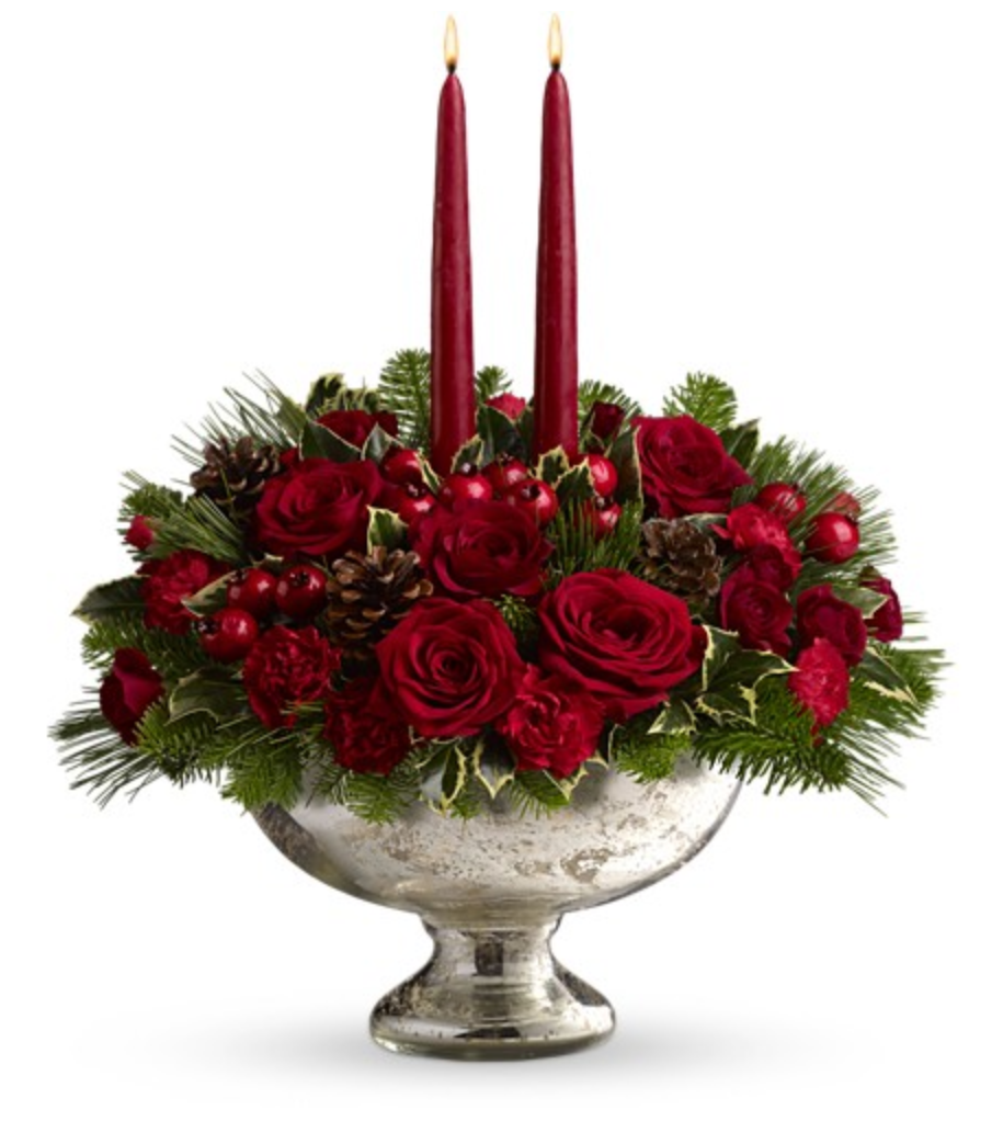 A town and country life christmas flowers