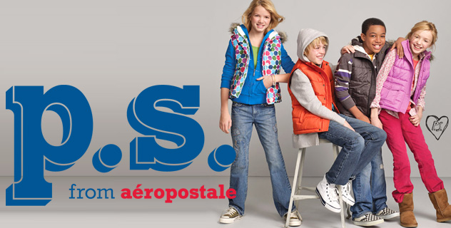 Kids show their true selves with the styles they choose to wear. A newfound sense of fashion freedom awaits yours in p.s. from Aéropostale — a line dedicated to harnessing a vibrant, youthful spirit.