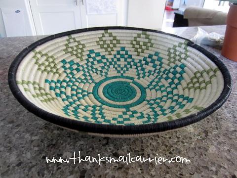 Rwanda Path to Peace basket