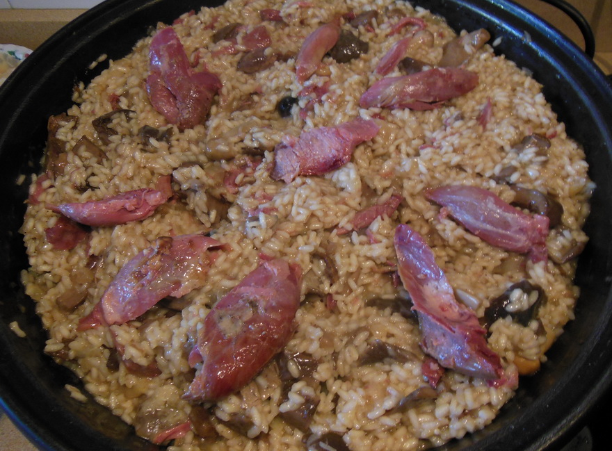 La cocina de natibel risotto de setas con confit de pato - Rissotto de setas ...