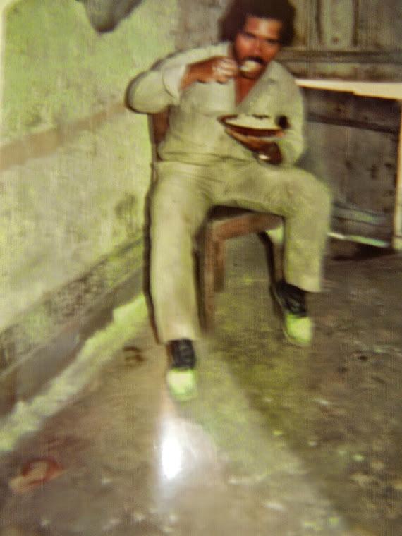 Finado Getulio em  1987 faleceu em 2014