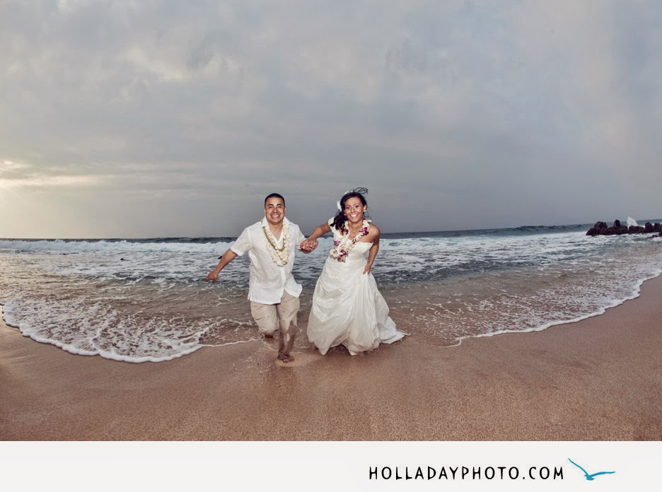 North Shore Beach Wedding Photography