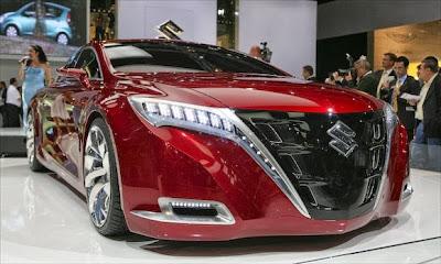 صورة سيارة حمراء سوزوكي