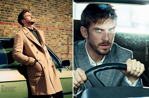dan stevens, esquire uk, magazine, december 2014