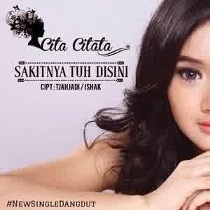 Download Lagu Cita Citata - Sakitnya Tuh Disini (No Vokal) MP3