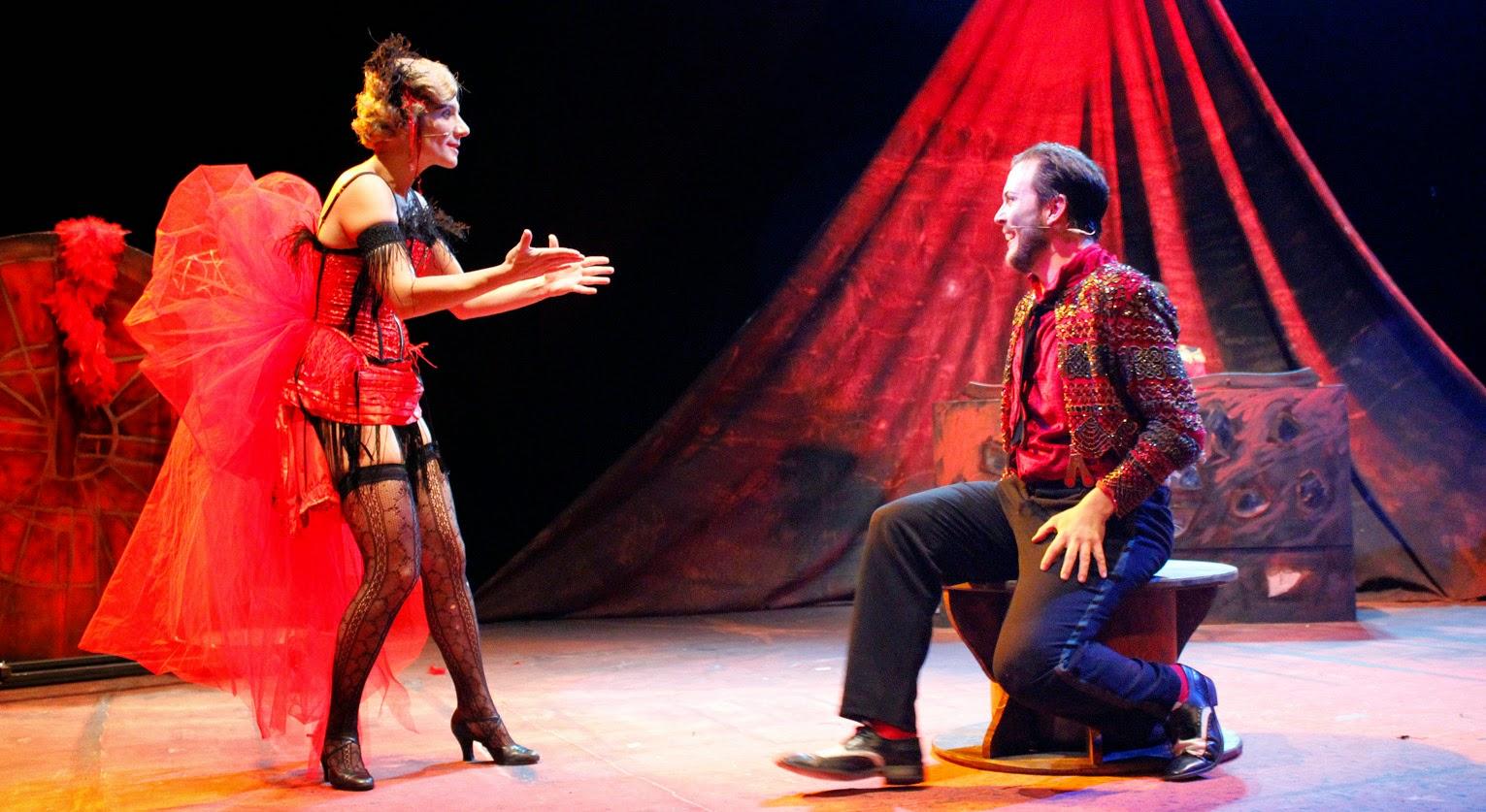 Teatro el escenario ambulante en la imperdible de sevilla for Sala imperdible