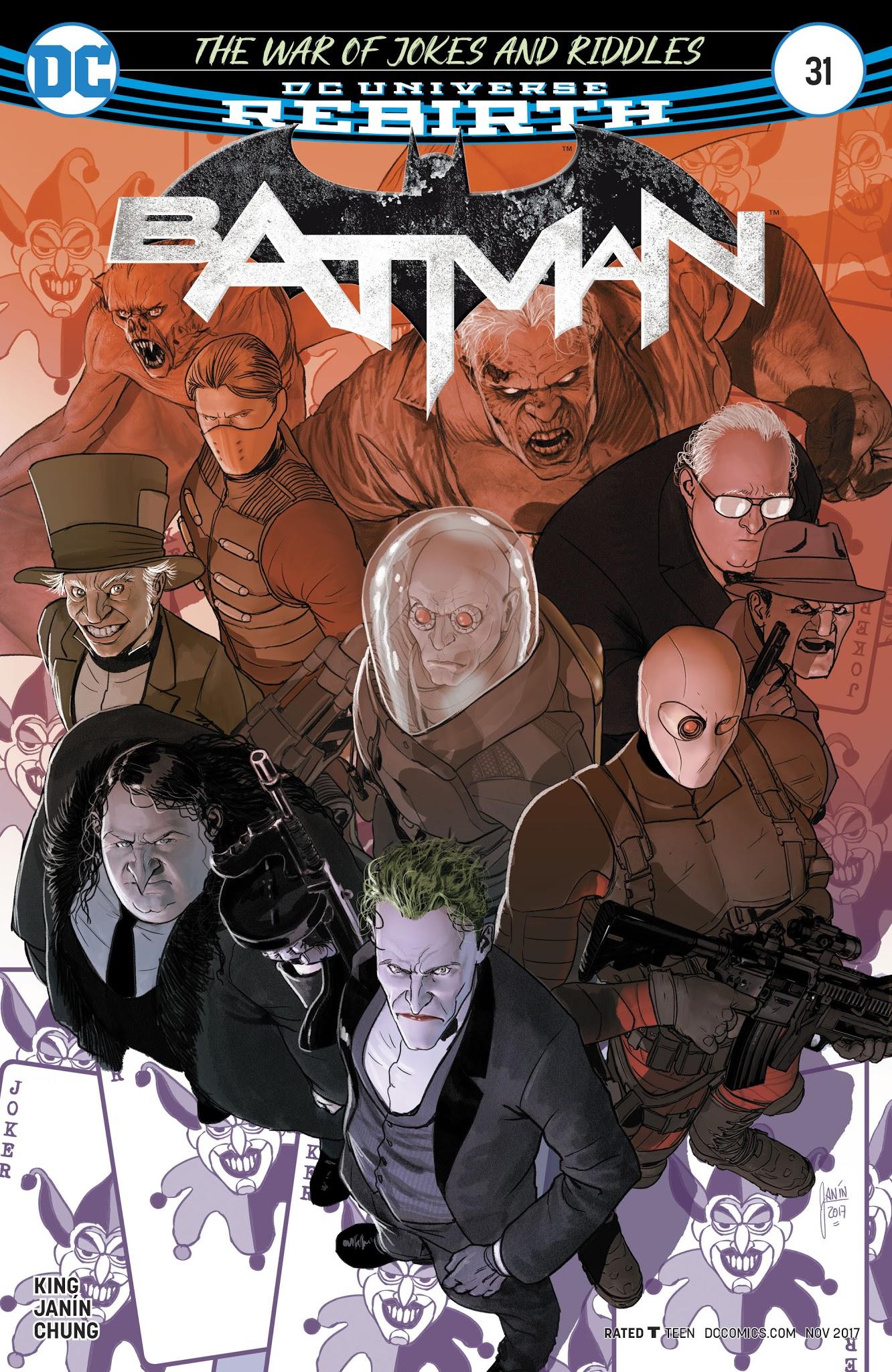 Batman (2016) 31 Page 1