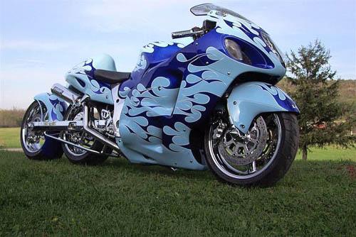 fotos de motos tuning:
