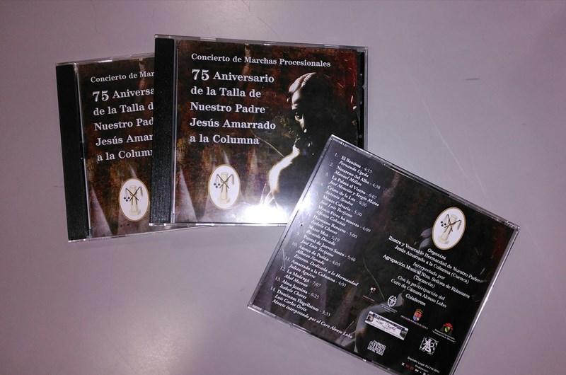 CD DE MARCHAS PROCESIONALES DEL CONCIERTO CONMEMORATIVO DEL 75 ANIVERSARIO DE NUESTRO TITULAR