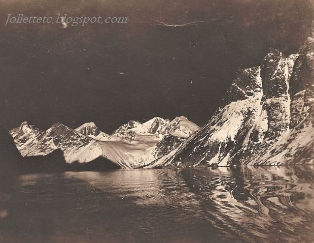 Night in Thule, Greenland 1947 http://jollettetc.blogspot.com