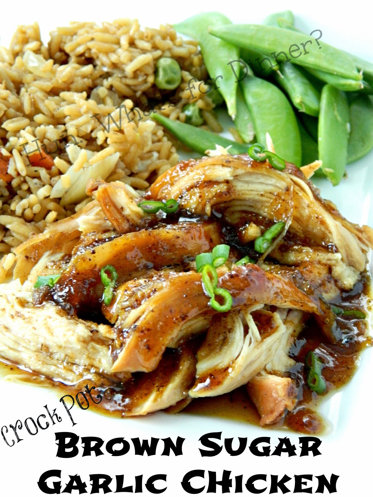 Brown Sugar and Garlic Chicken in the Crock Pot