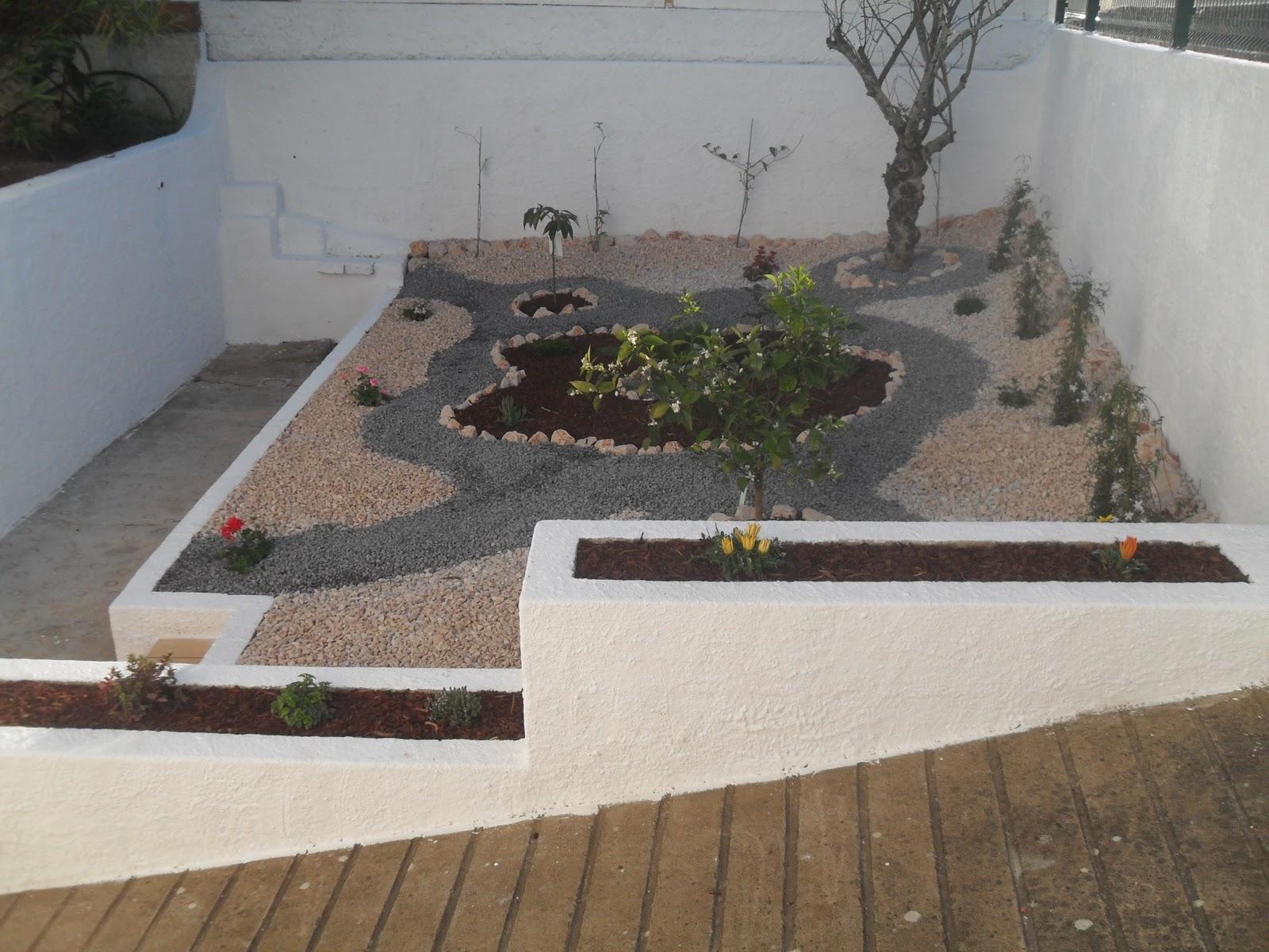 decoracao jardim pedras: : Construção do Jardim , Decoração com Pedras. Casa do Diplomata