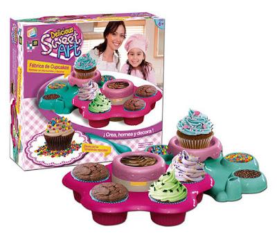 JUGUETES - SWEET ART - Fábrica de Cupcakes Manualidades | Cefa Toys 2015 | A partir de 6 años Comprar en Amazon España