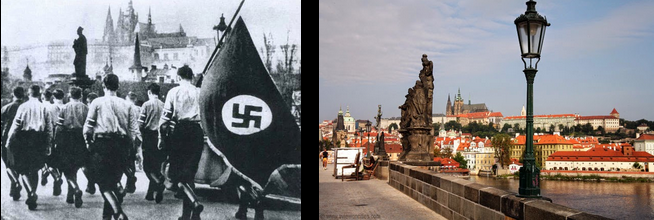 Swastika Charles Bridge