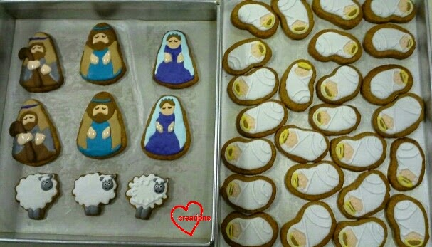 Loving Creations For You Navitity Christmas Gingerbread Cookies