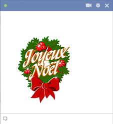 Joyeux Noël Emnoticone
