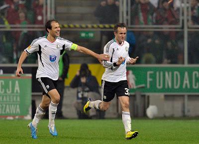Legia Warsaw 3 - 1 Rapid Bucuresti (2)