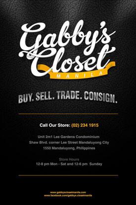 GABBY'S CLOSET