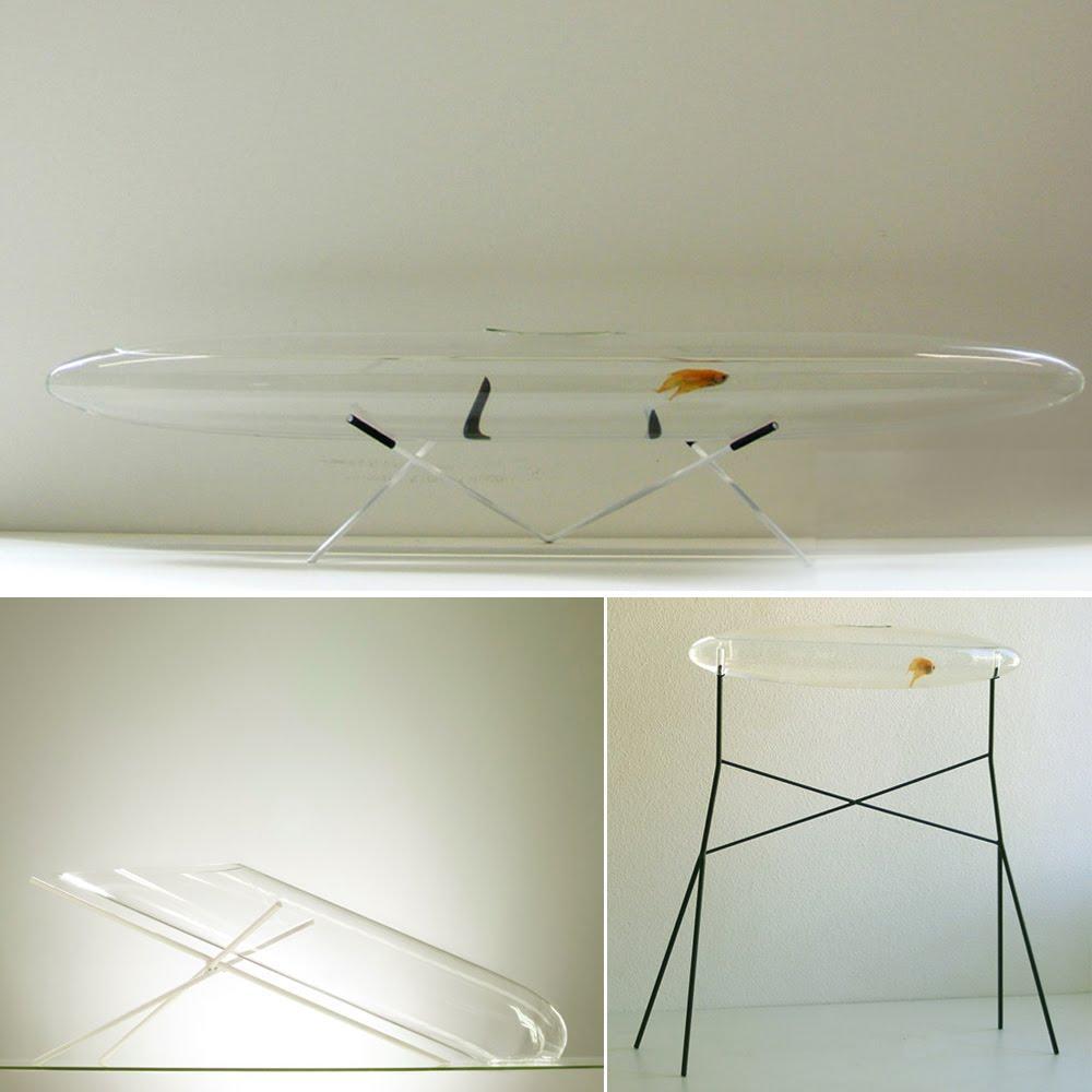 Artistic Aquariums : Aquarius, the modern shaped fish tanks by ...