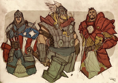 Alternative Avengers Medieval Avengers Alternativos Medievais