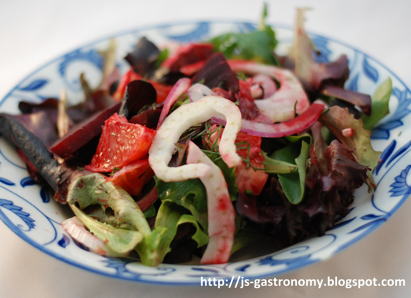 Gastronomy: Blood Orange, Beet, and Fennel Salad