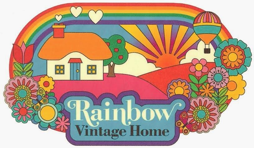 my rainbow vintage home