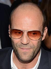 Jason Statham Famous Balding Man