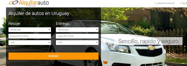 Alquila los mejores autos en Uruguay