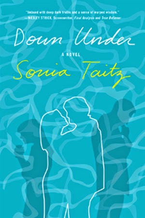 http://www.amazon.com/Down-Under-Sonia-Taitz/dp/0985222743/ref=sr_1_1?s=books&ie=UTF8&qid=1418238362&sr=1-1&keywords=down+under+sonia+taitz