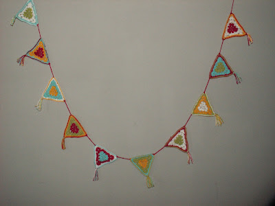 Crochet Party Garland