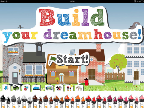 At home with kids and home the horn book Build my dream house