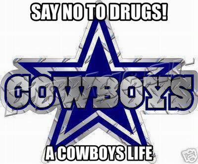 say no to drugs! a cowboys life
