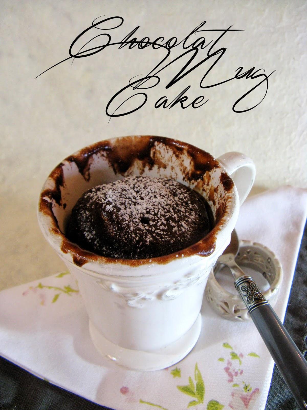 Gateau au micro onde dans un gobelet meilleur travail des chefs populaires - Gateau dans un mug ...