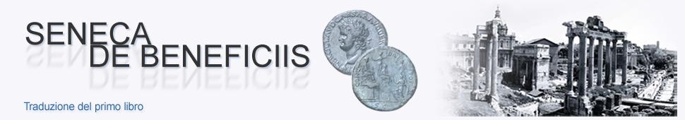 Seneca - De beneficiis (Libro I, traduzione e testo)