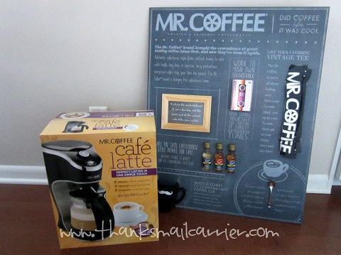 Mr. Coffee Cafe Latte