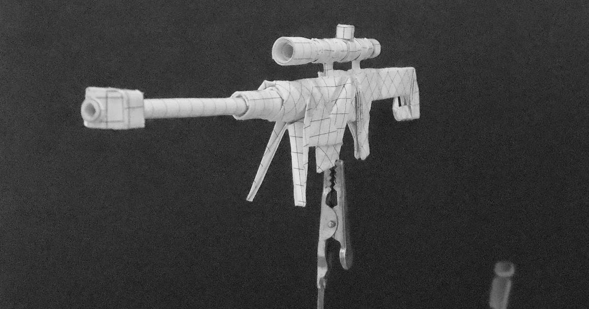 Moving Origami: Origami Weapons