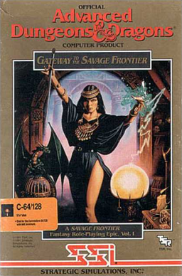 Gateway of the Savaje Frontier AD&D pc game cover