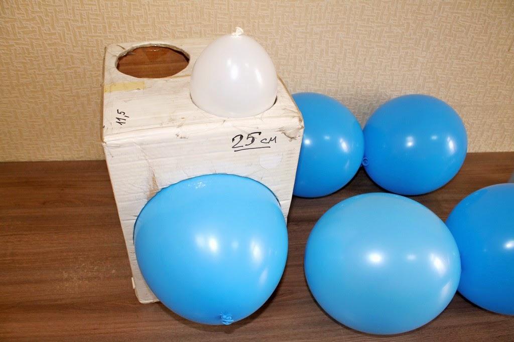 калиброванные воздушные шары