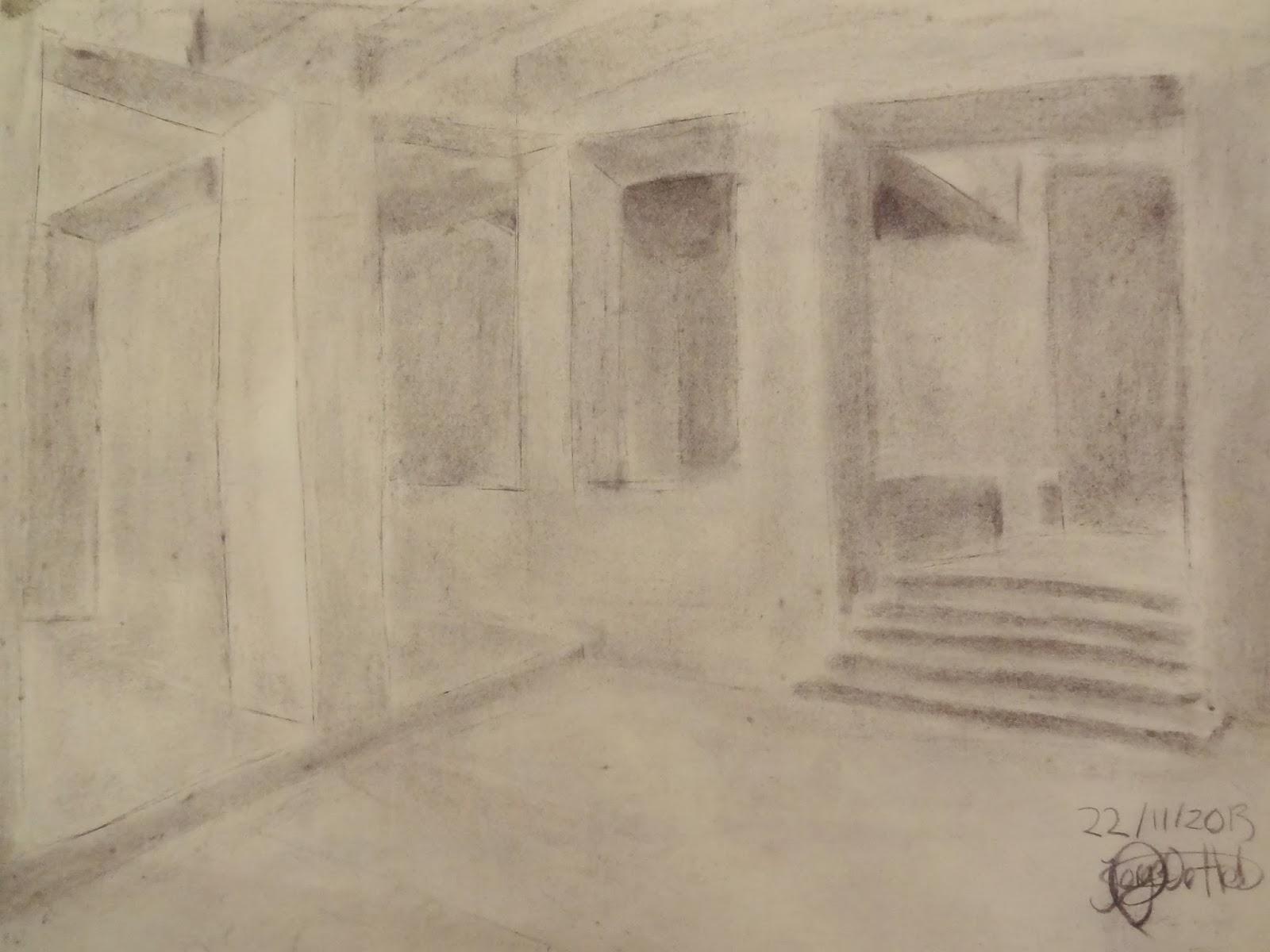 DAI ETSAM 2013: Análisis Espacio Aula Museo: Dibujo Final