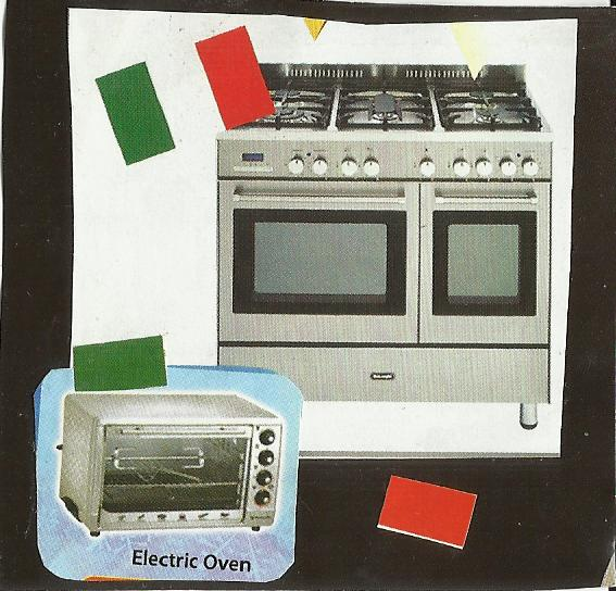 Electric Oven Gas Stove Electric Oven