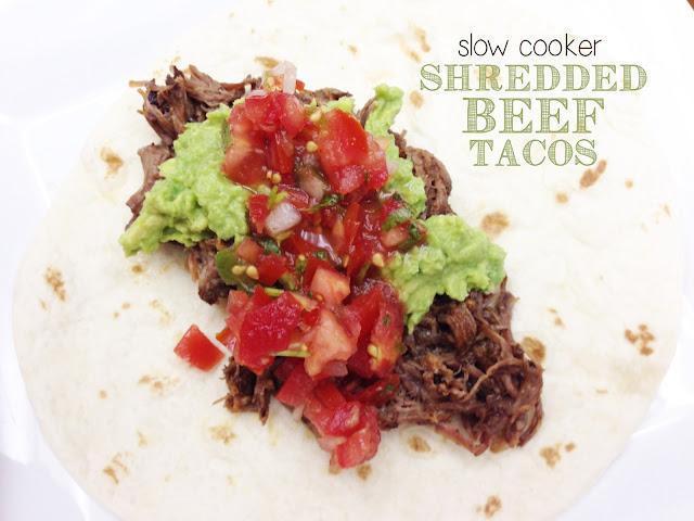 Meet the Sullivans: Slow Cooker Shredded Beef Tacos