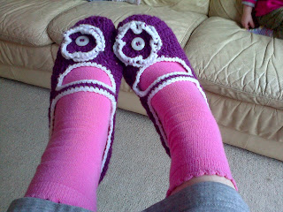 woolly slipper socks