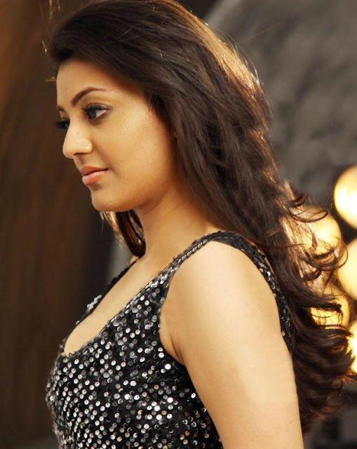 Kajal Agarwal stills in black dress Kajal_Agarwal+gorgeous+stills+(2)