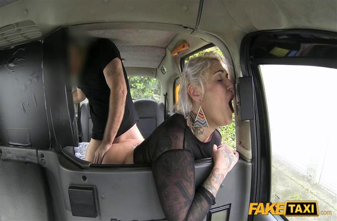 FakeTaxi | Tattooed lady loves dirty anal sex
