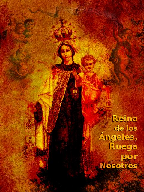 oracion reina de los angeles