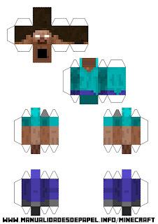 Crear bloque minecraft de Herobrine