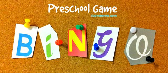 bingo, preschool, preschool games, preschool activities, animal themes for preschool