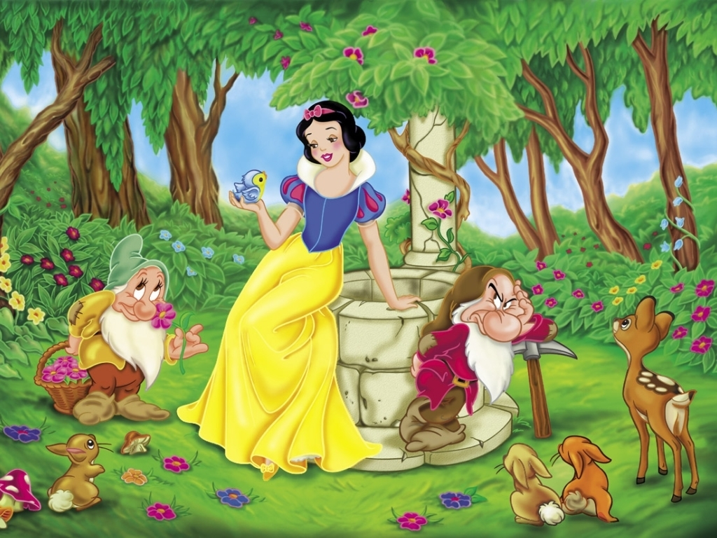 snow white coloring pages - Free Coloring Pages Printables for Kids